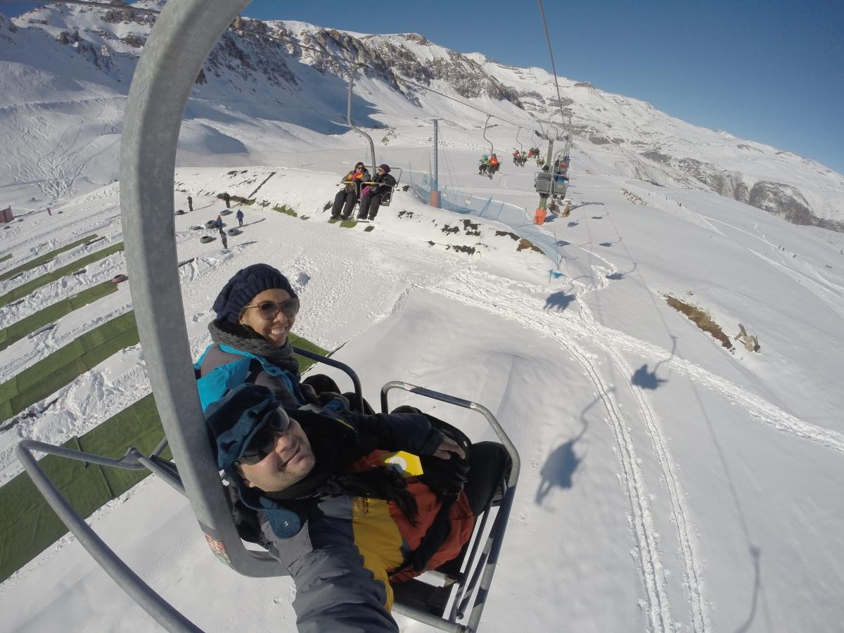 Valle Nevado ou Farellones? (CHL)